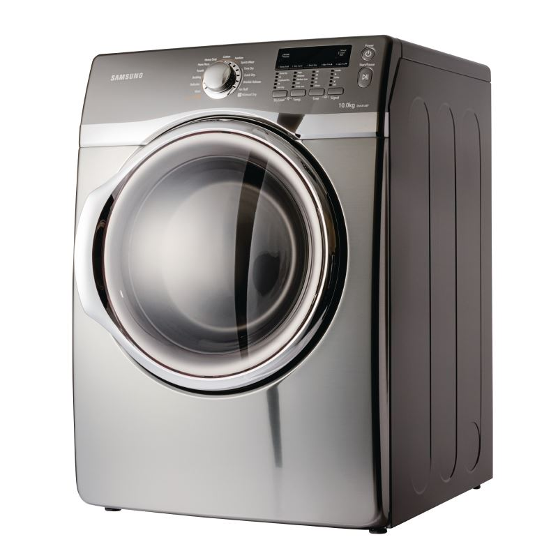 Loading Tumble Dryer ~ Samsung dryer dv aep ltr mm washer load
