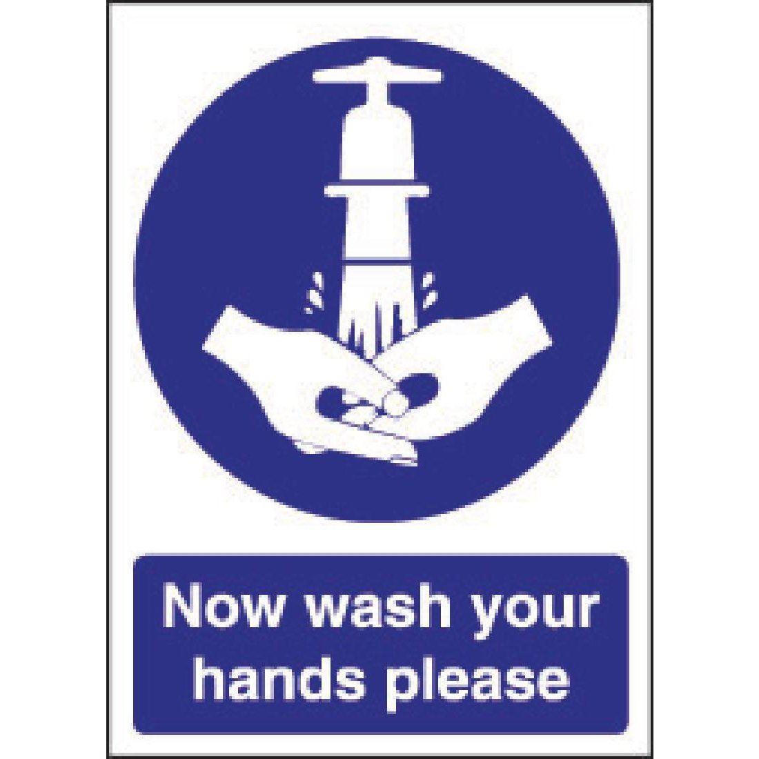 Vogue Now Wash Your Hands Sign Vinyl 5050984352089 Ebay