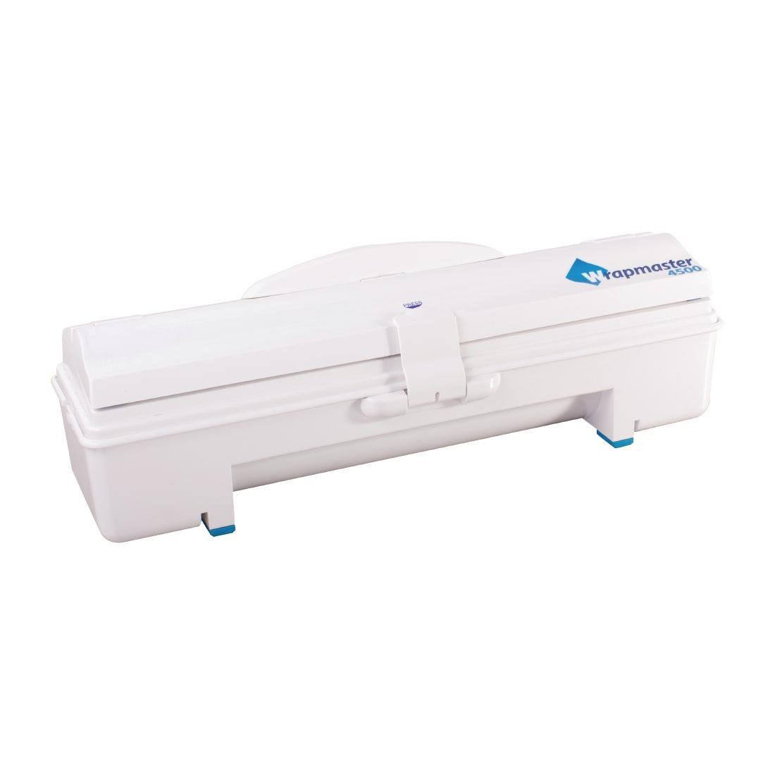 Details about Wrapmaster 4500 Cling Foil Film Dispenser with Non Slip Feet  & Lockable Lid 18in