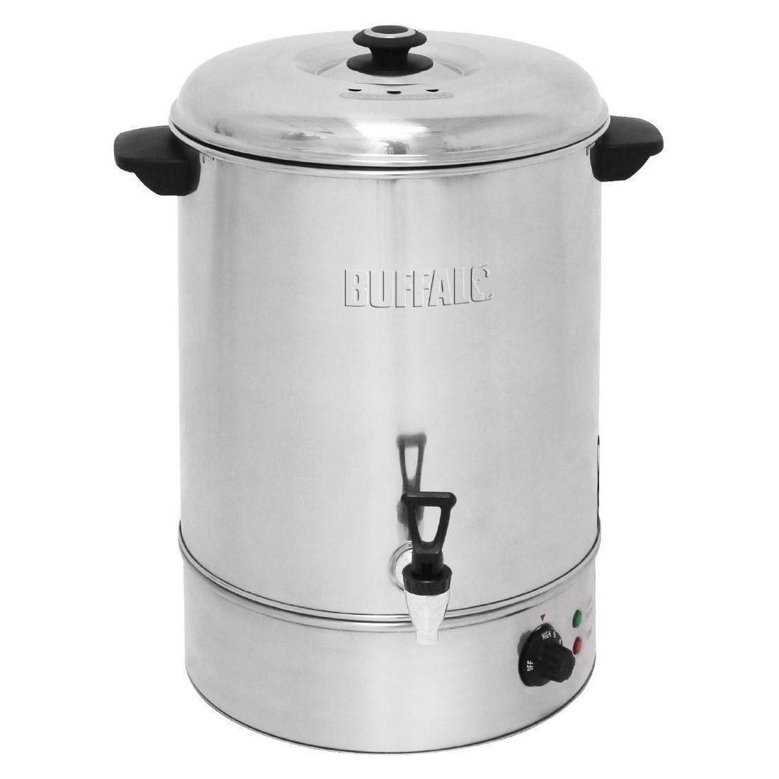 Buffalo Manual Fill Water Boiler 40Ltr Stainless Steel Commercial ...