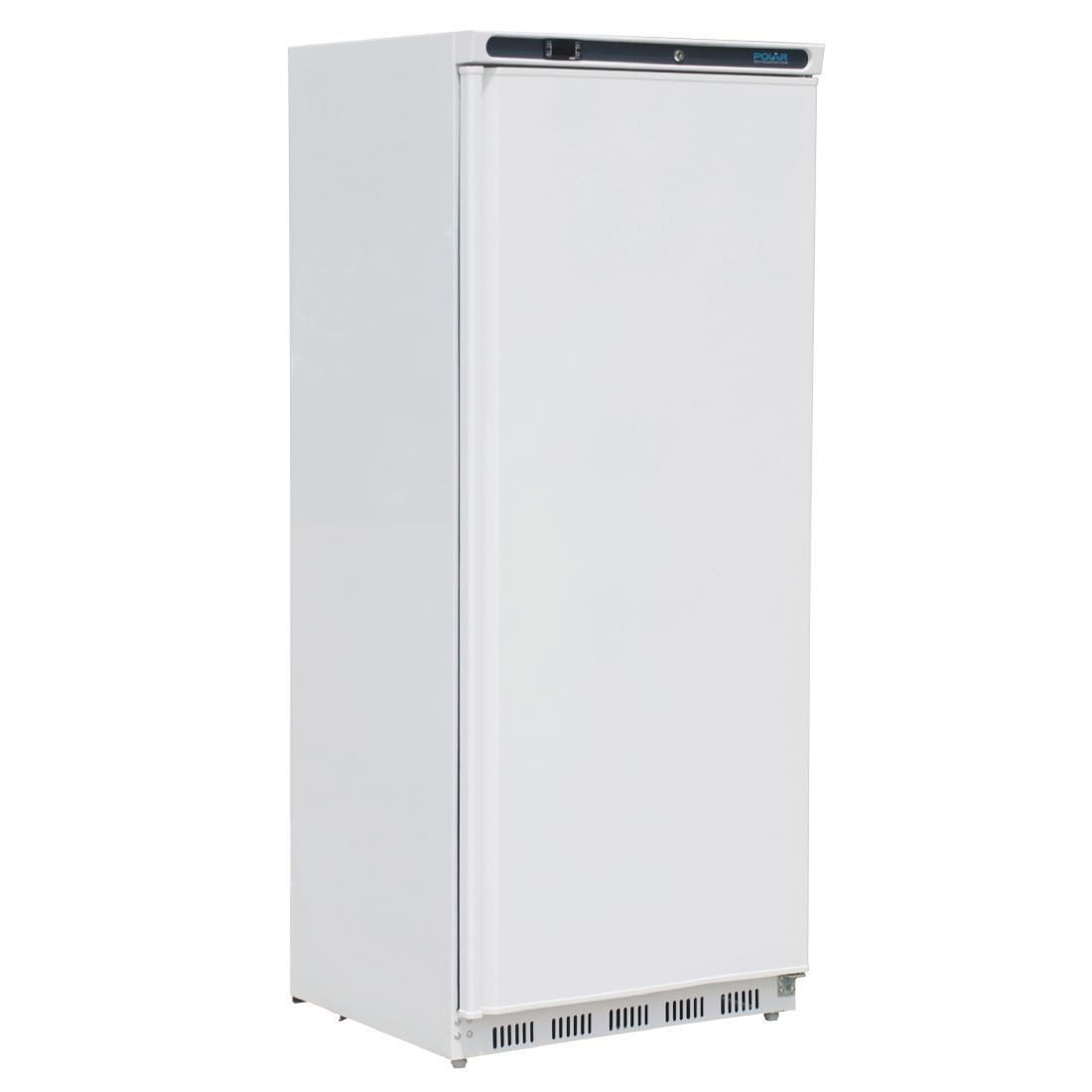 Polar Light Duty Single Door Fridge White 600Ltr Commercial Kitchen  Refrigerator ...