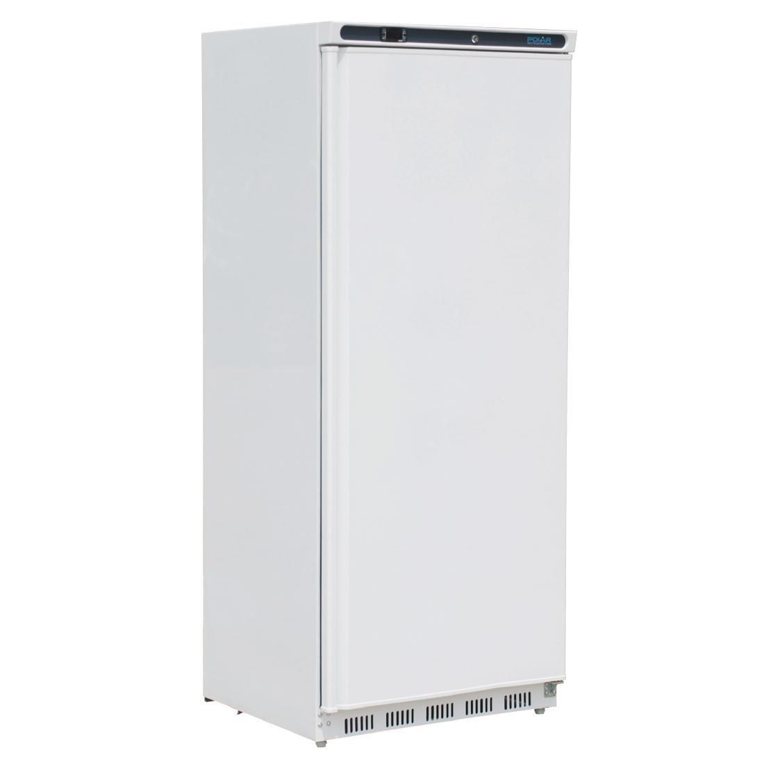 Polar Light Duty Single Door Fridge White 600Ltr Commercial Kitchen  Refrigerator ...