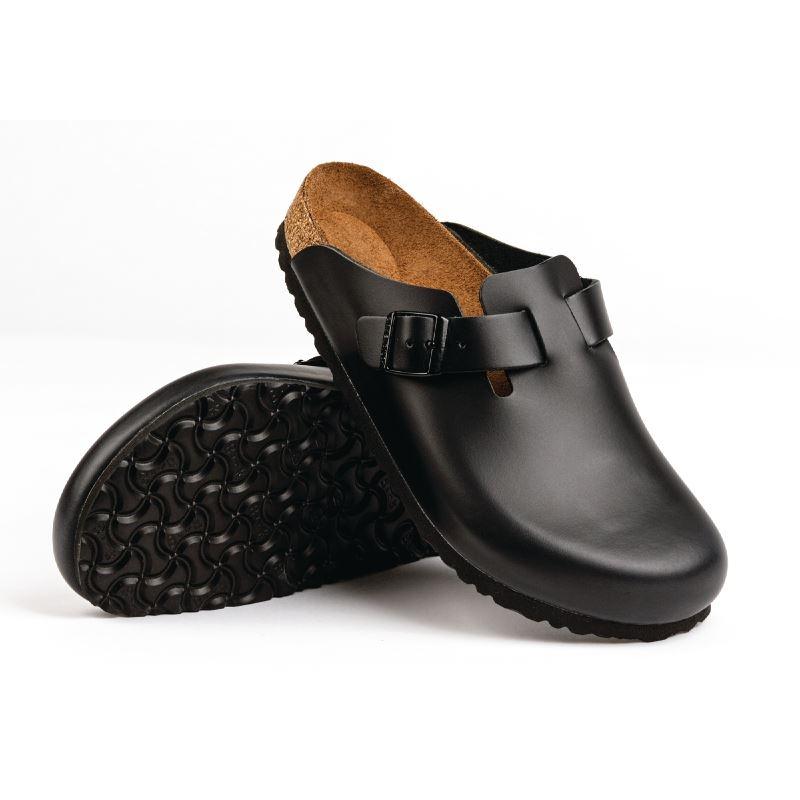 3dfa0c9d6a0 Birkenstock Boston Unisex Women Men Clogs 4 Chefs Shoes Footwear ...