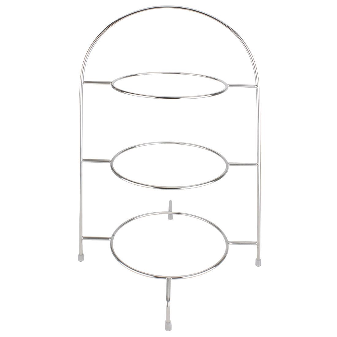 Olympia Afternoon Tea Stand for Plates Up To 267mm Chrome ...  sc 1 st  eBay & Olympia Afternoon Tea Stand for Plates Up To 267mm Chrome   eBay