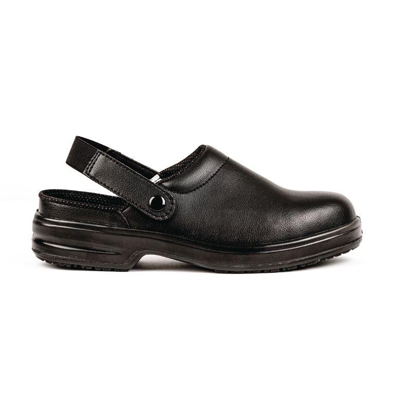 3c28772425 Lites Safety Footwear A813-46 Unisex Clogs Black | eBay