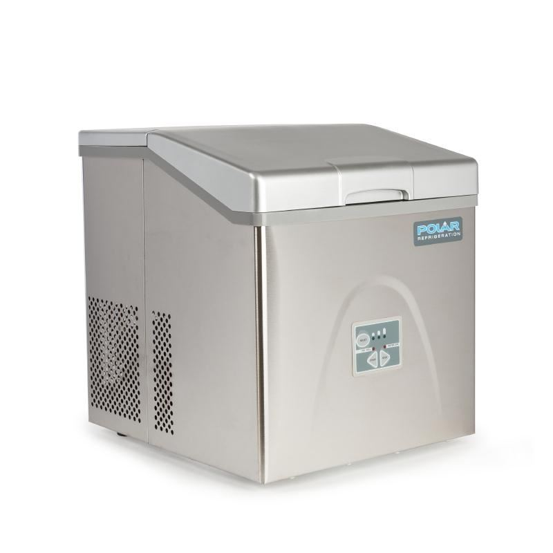 Polar Counter Top Ice Maker 15kg Output 415x365x420mm