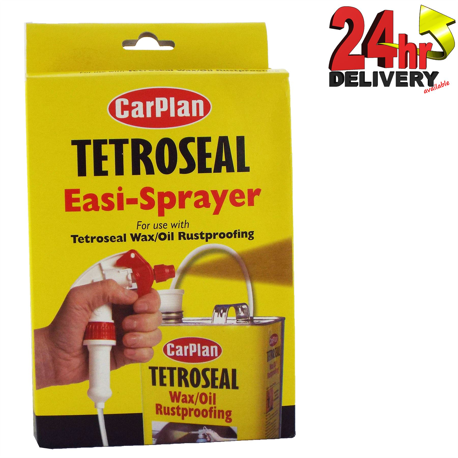 Petroleum Fuel Mail: Tetroseal Carplan Waxoyl Easi-Spray Trigger Spray Gun For