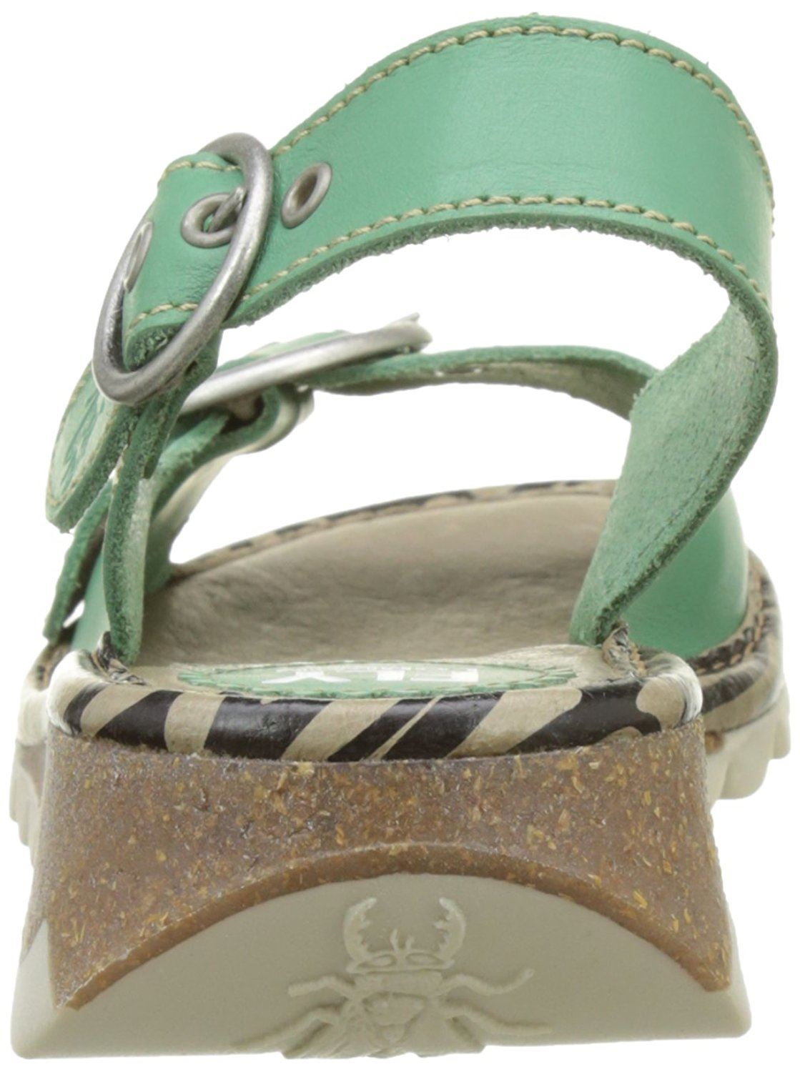 Fly-London-Ladies-TRAM723FLY-Lo-Wedge-Slingback-Summer-Sandals-Leather thumbnail 52