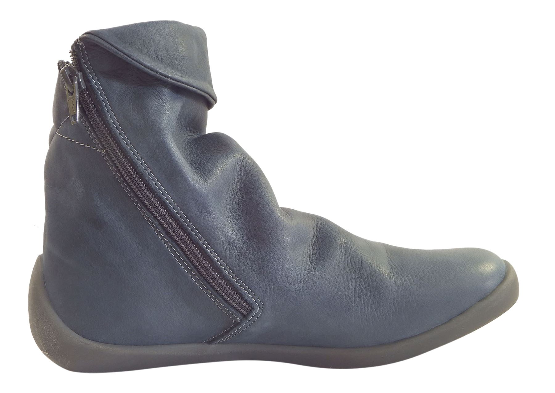 Washed Leather Hi Ladies About Slouch Boots Details Softinos Nat332sof Ankle Soft orQdCBtshx