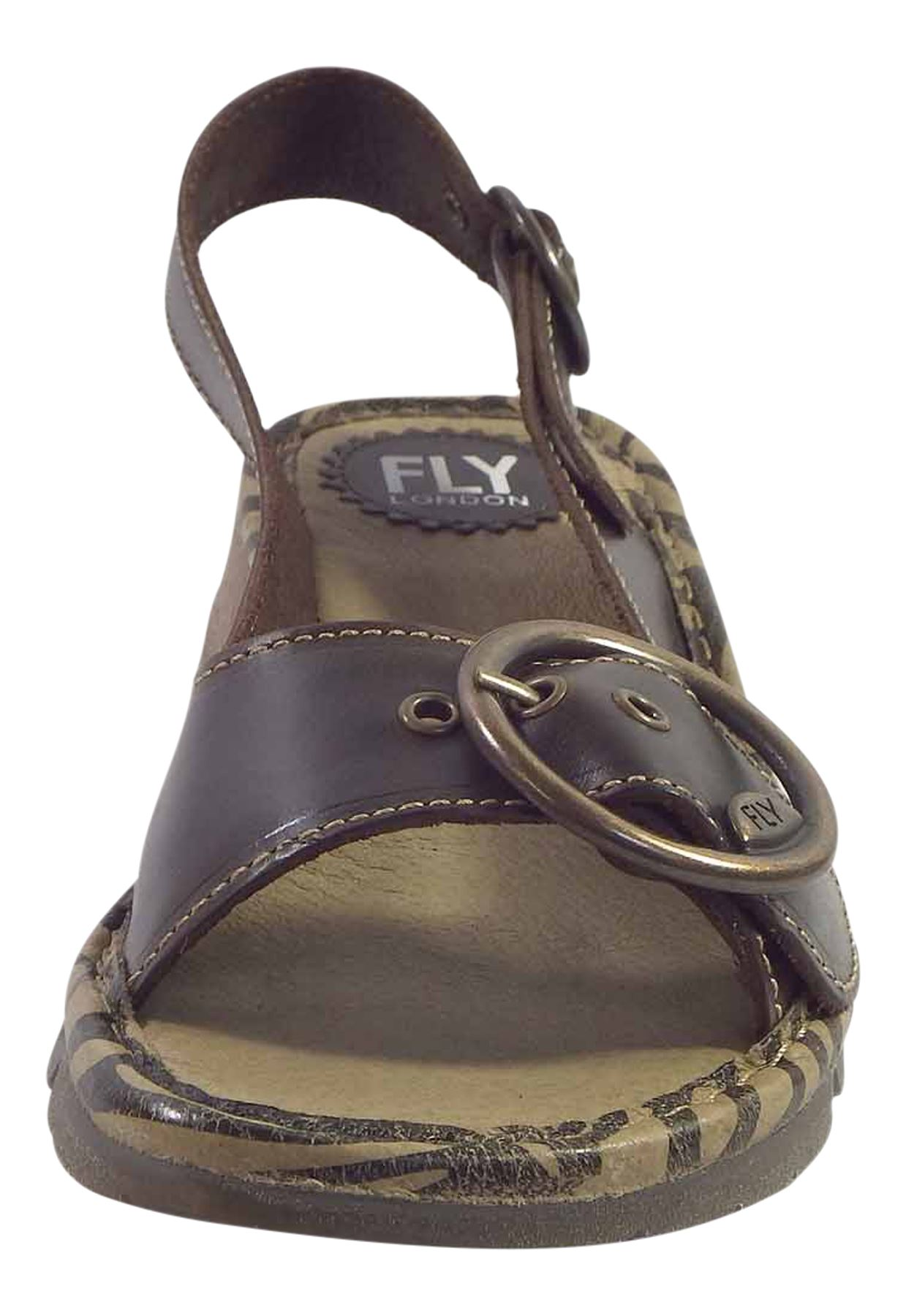 Fly-London-Ladies-TRAM723FLY-Lo-Wedge-Slingback-Summer-Sandals-Leather thumbnail 35