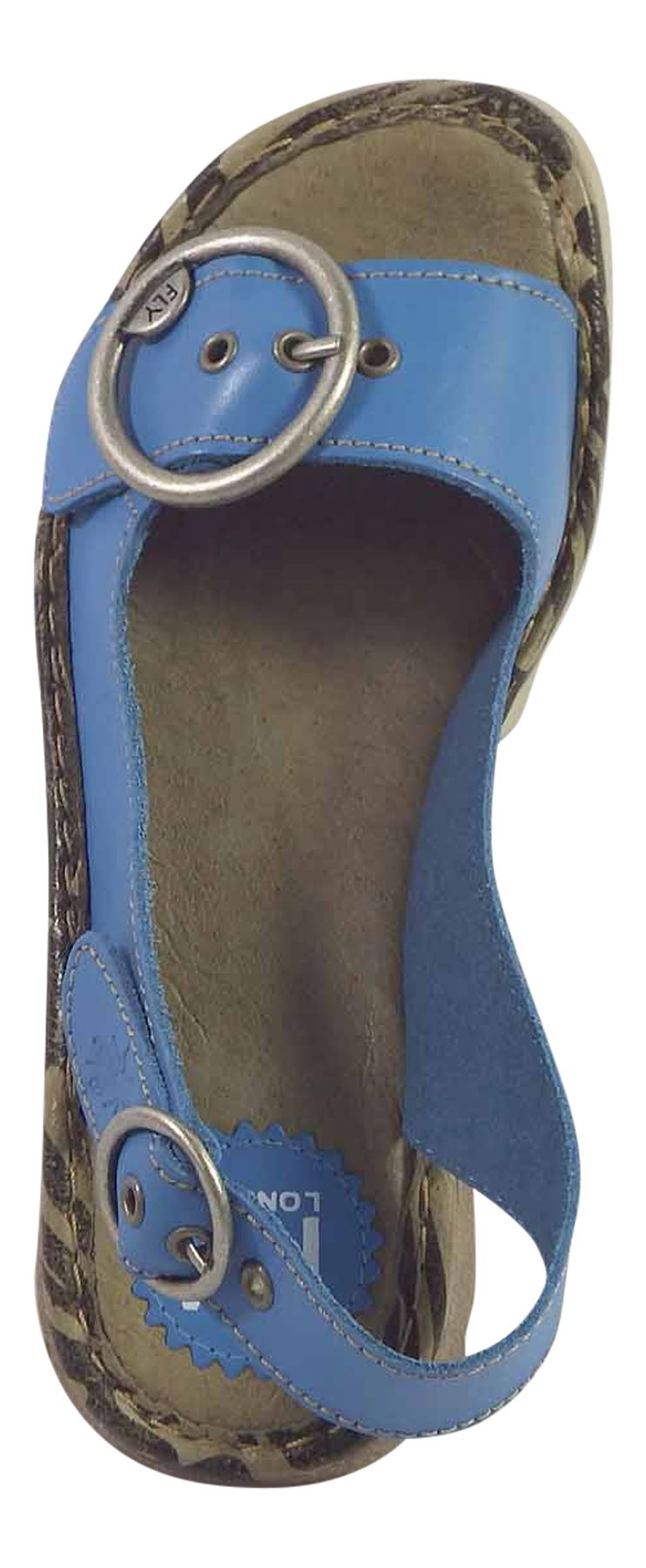 Fly-London-Ladies-TRAM723FLY-Lo-Wedge-Slingback-Summer-Sandals-Leather thumbnail 67