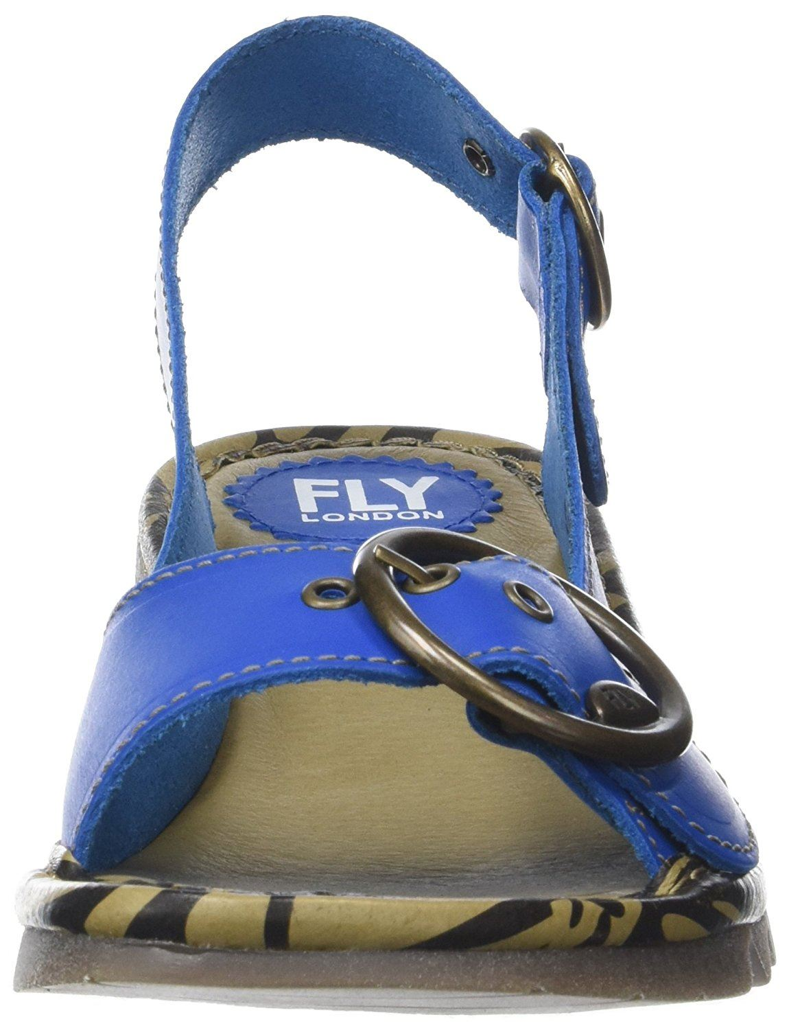 Fly-London-Ladies-TRAM723FLY-Lo-Wedge-Slingback-Summer-Sandals-Leather thumbnail 40