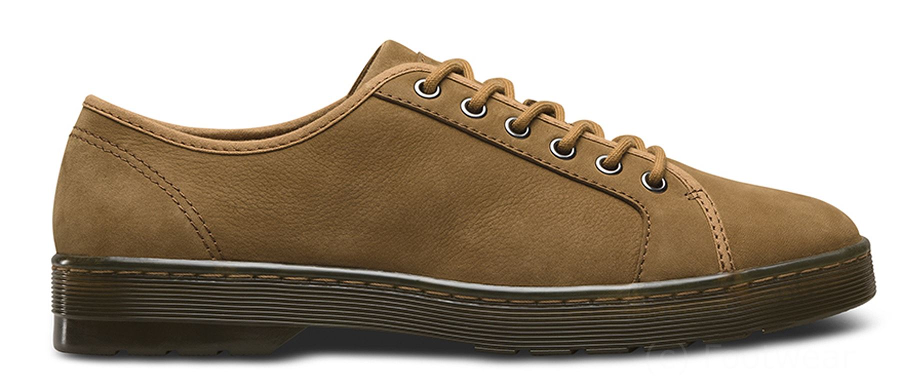 2a6df1de3563 ... Dr Martens Mens Mens Mens Wilbur II Slippery WP Nubuck Leather Low-top  Trainer Shoes ...