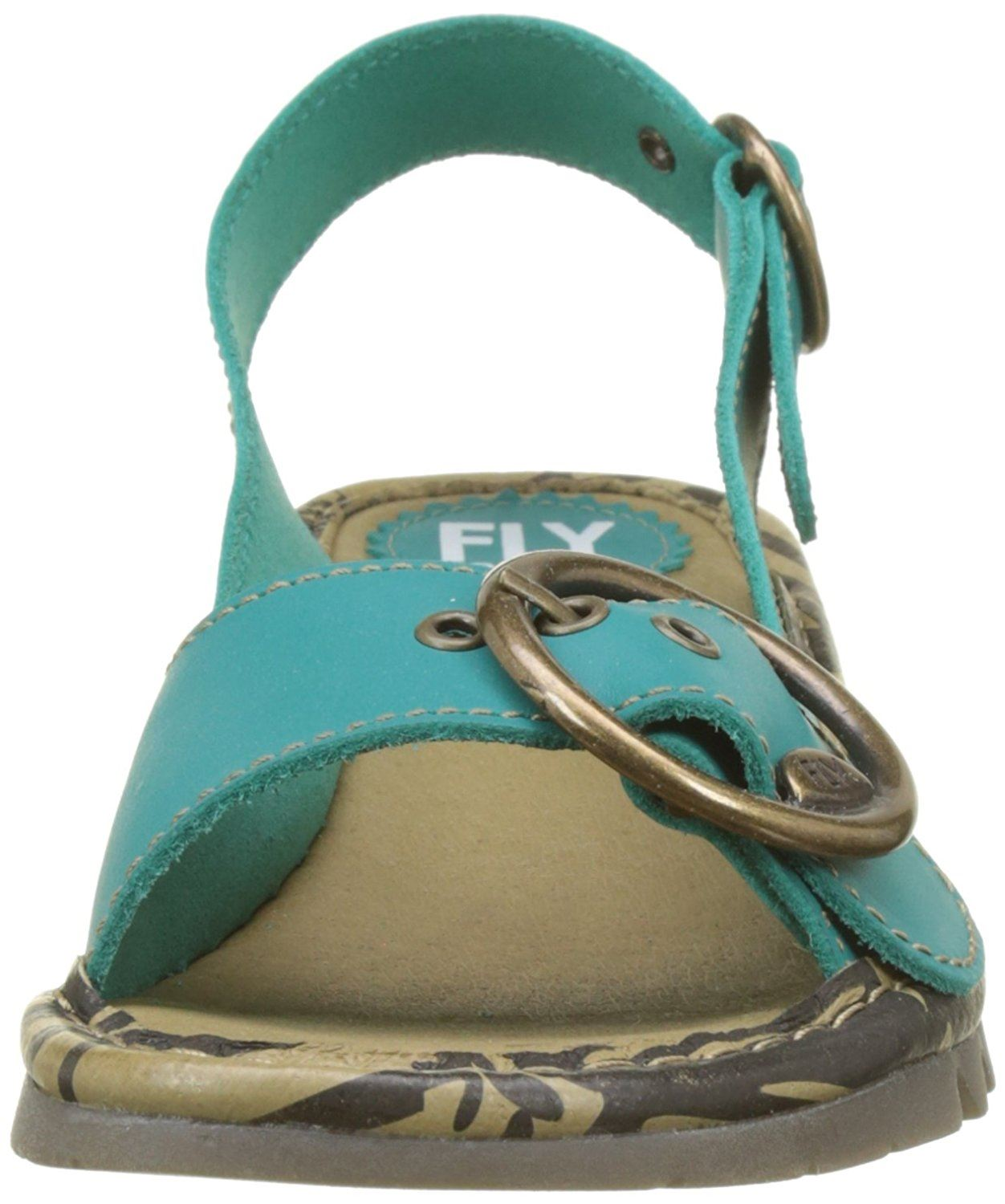 Fly-London-Ladies-TRAM723FLY-Lo-Wedge-Slingback-Summer-Sandals-Leather thumbnail 72