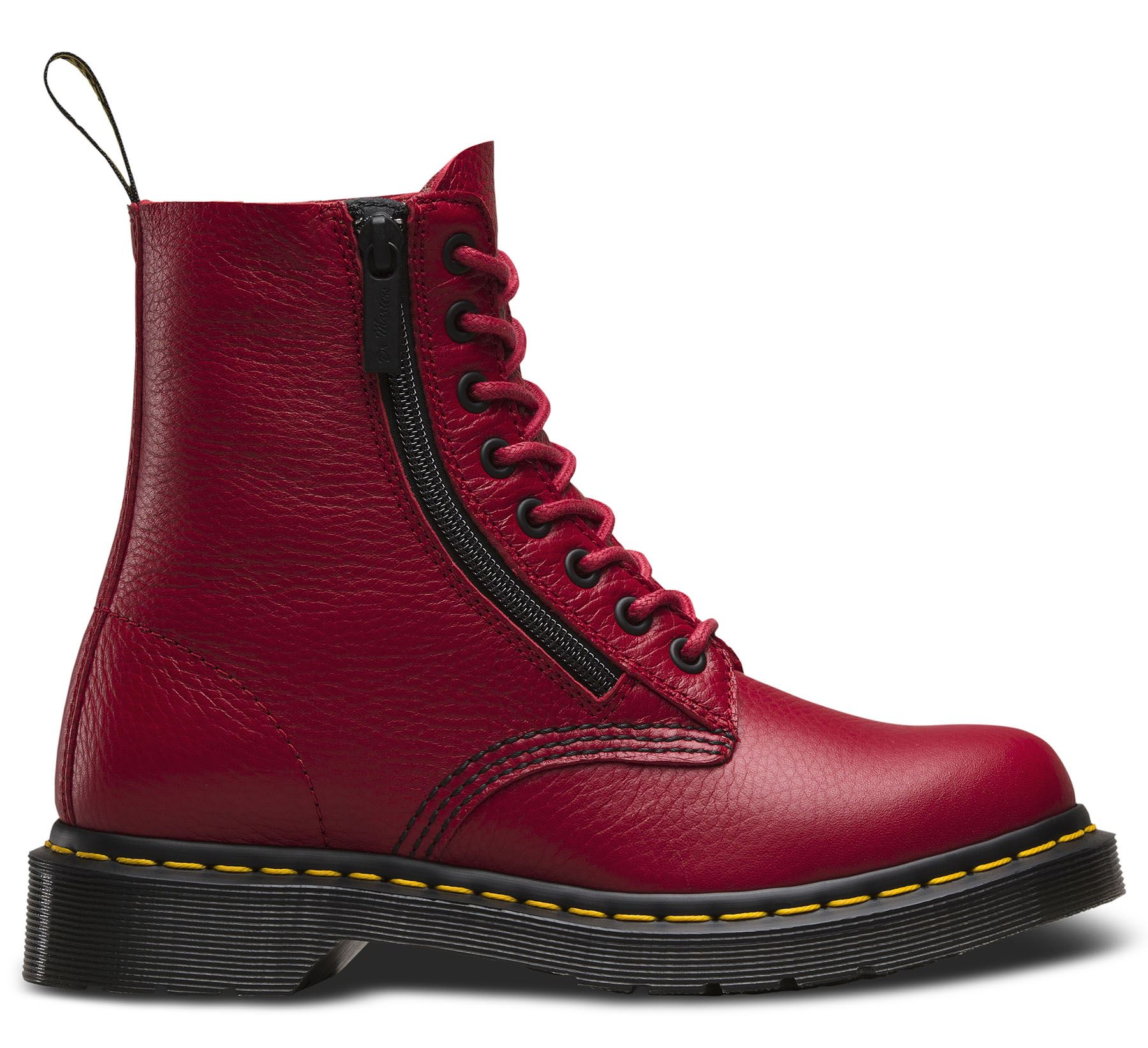 3a1134b5aee Dr Martens Ladies Pascal 1460 Aunt Sally Grizzly Leather Zip Leather ...