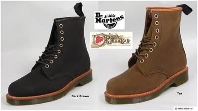 Dr Martens 1460 Lark Unisex British Millerain Chera Wax Canvas Ankle Stiefel    | Deutschland Online Shop