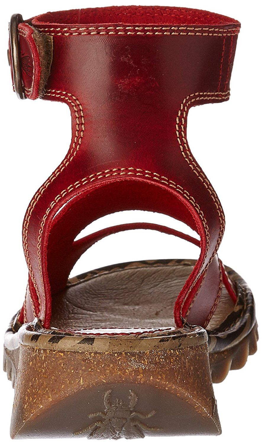 Fly-London-TILY722FLY-Ladies-Strappy-Gladiator-Style-Leather-Wedge-Sandals thumbnail 19
