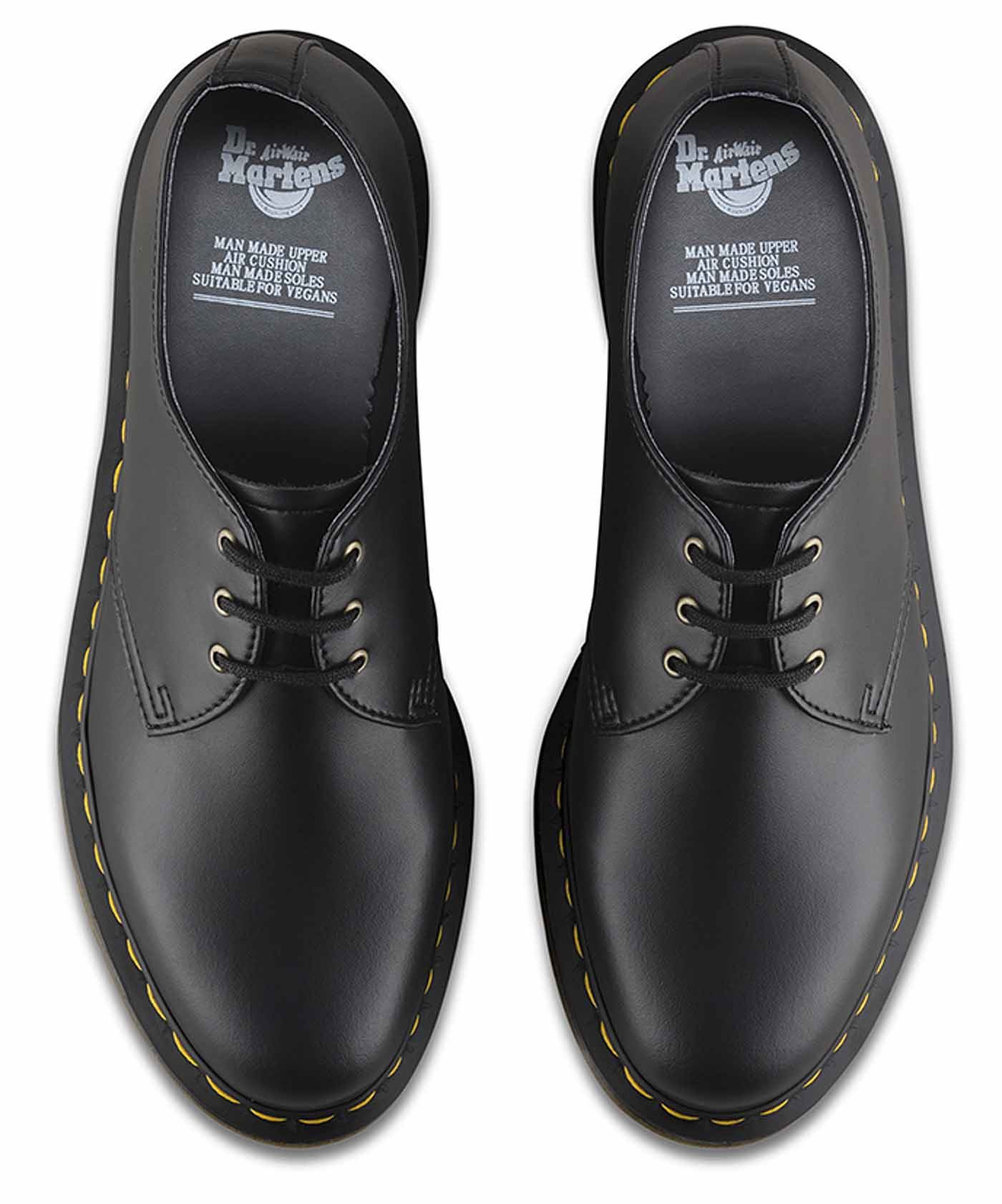 Dr Martens 1461 Vegan Schuhes 3 Eye Vegetarian Casual Schuhes Vegan 8364ac