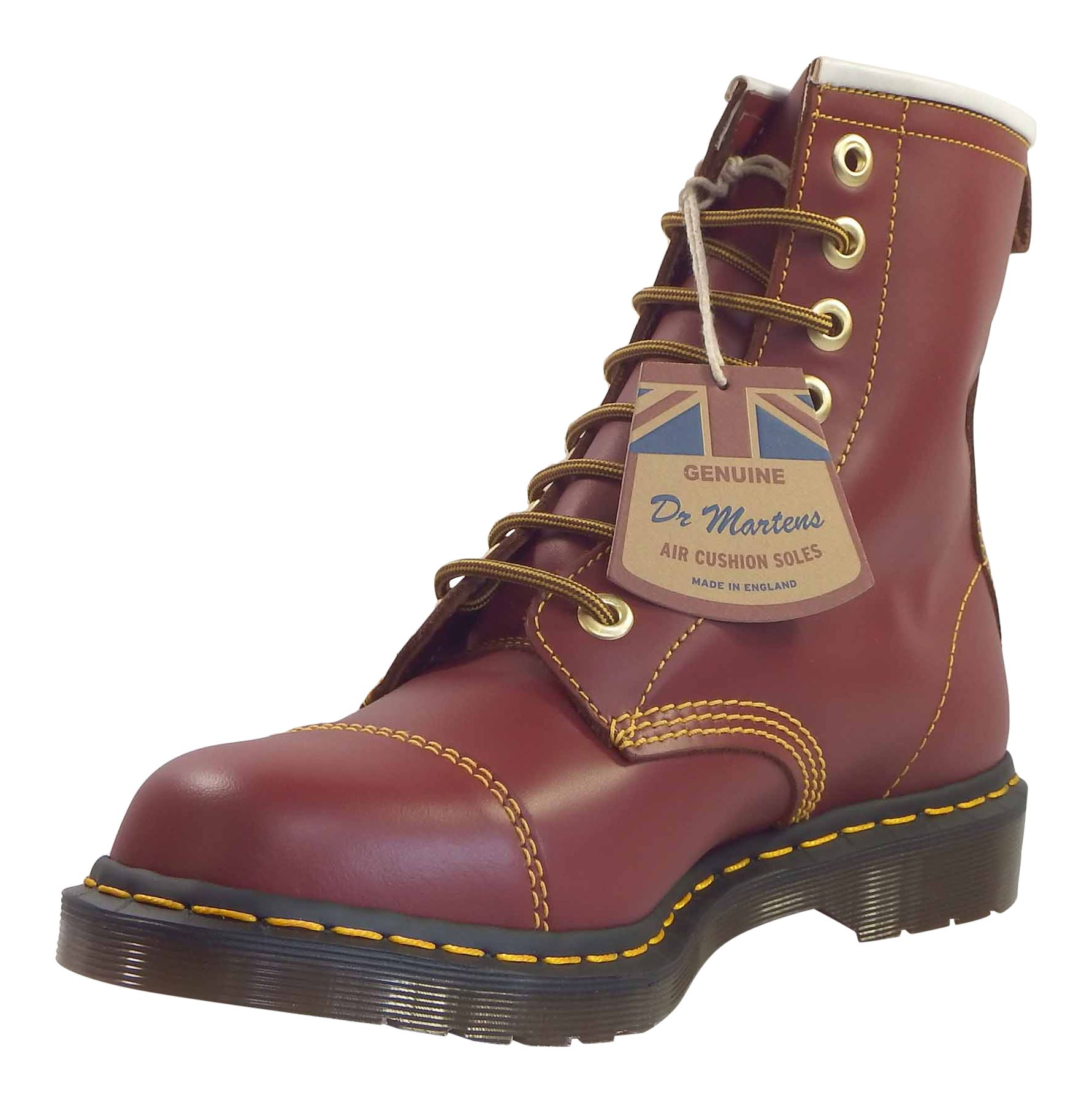 Grandes zapatos con descuento Dr Martens Unisex Capper Made In England Leather 8 Eye Ankle Boots