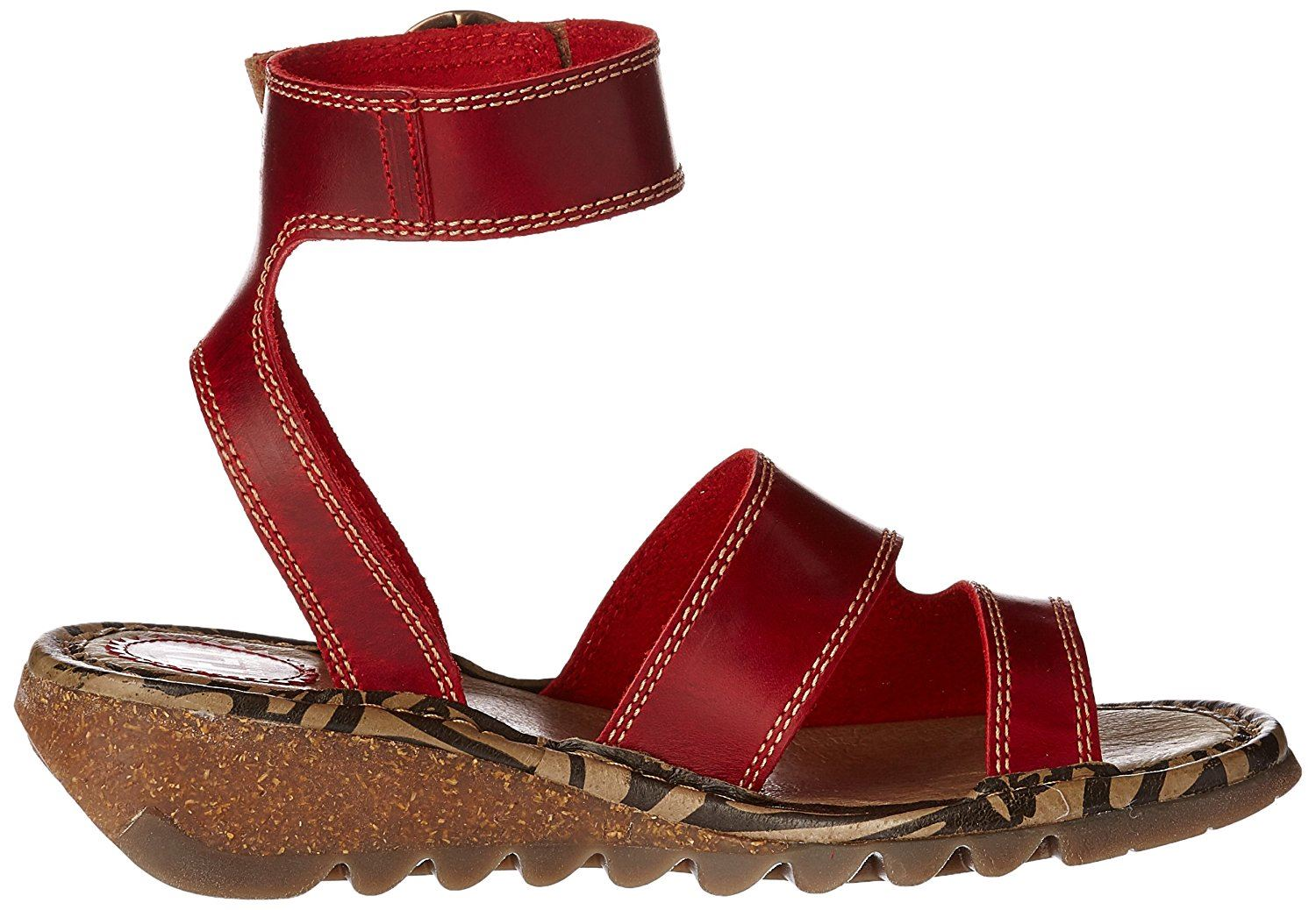 Fly-London-TILY722FLY-Ladies-Strappy-Gladiator-Style-Leather-Wedge-Sandals thumbnail 21