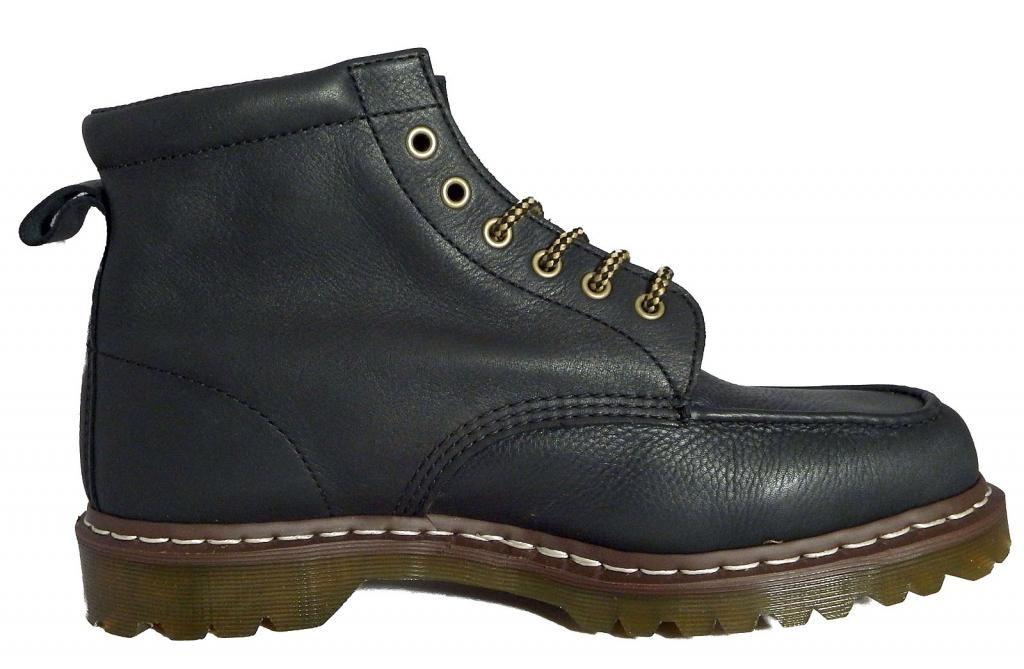 Dr Doc Martens Unisex Damian Geronimo Cuero Cuero Cuero Negro botas al Tobillo 14956002 b5d211