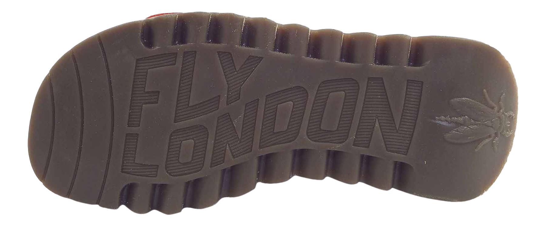 Fly-London-Ladies-TRAM723FLY-Lo-Wedge-Slingback-Summer-Sandals-Leather thumbnail 62