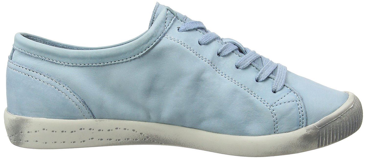 Softinos-Isla-Soft-Washed-Smooth-Leather-Trainers-Pumps-Shoes-made-by-Fly-London thumbnail 20