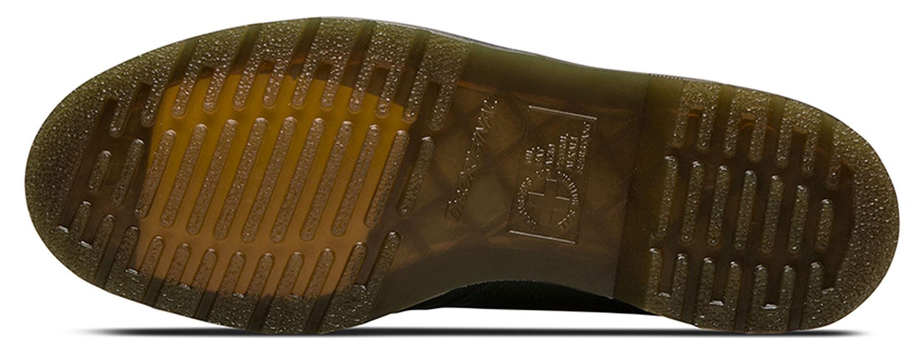 DR Martens da Uomo 1461 BRUNITA Verde Antico Temperley BRUNITA 1461 Liscio Scarpe Di Pelle 86c99d