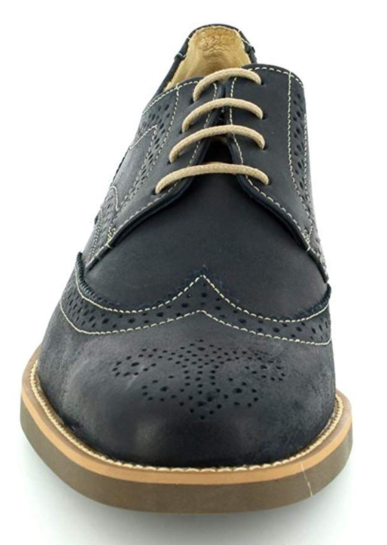 Zapatos de cuero Anatomic para hombre & TUCANO De Piel De Oveja Forrado & hombre Co Cómodos de Lujo Gel 39946a