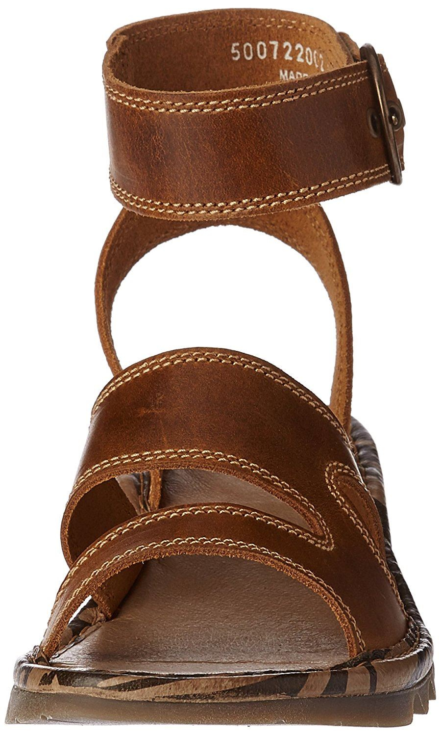 Fly-London-TILY722FLY-Ladies-Strappy-Gladiator-Style-Leather-Wedge-Sandals thumbnail 12