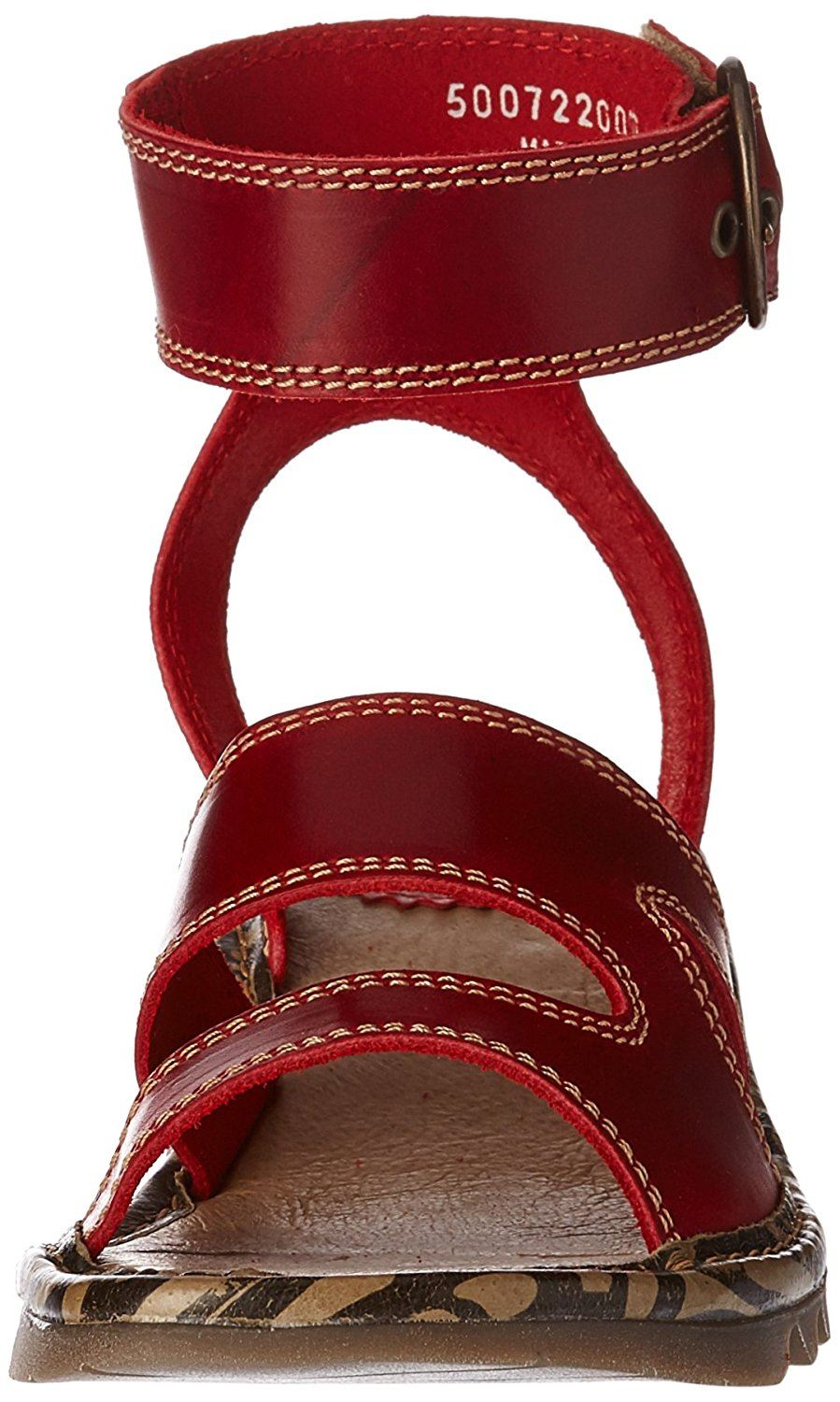 Fly-London-TILY722FLY-Ladies-Strappy-Gladiator-Style-Leather-Wedge-Sandals thumbnail 18