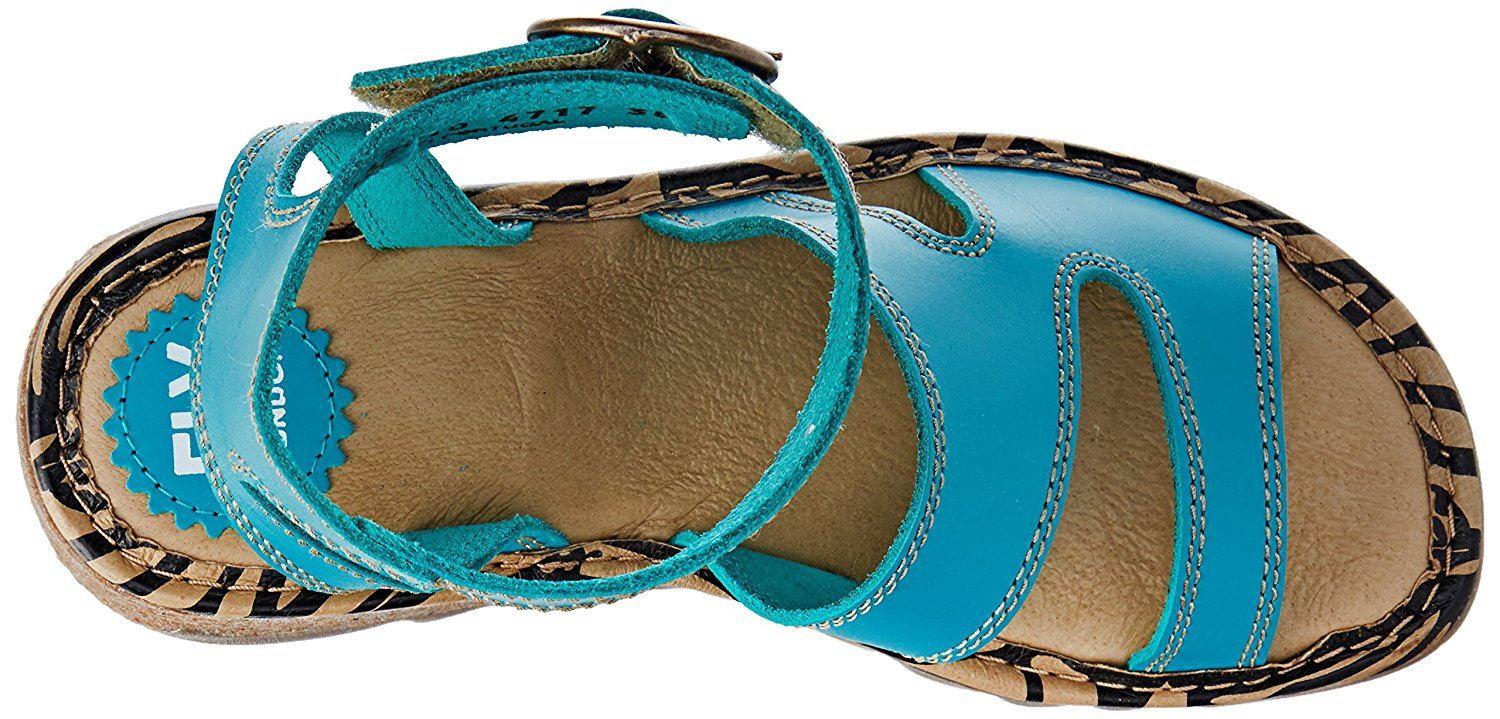 Fly-London-TILY722FLY-Ladies-Strappy-Gladiator-Style-Leather-Wedge-Sandals thumbnail 26