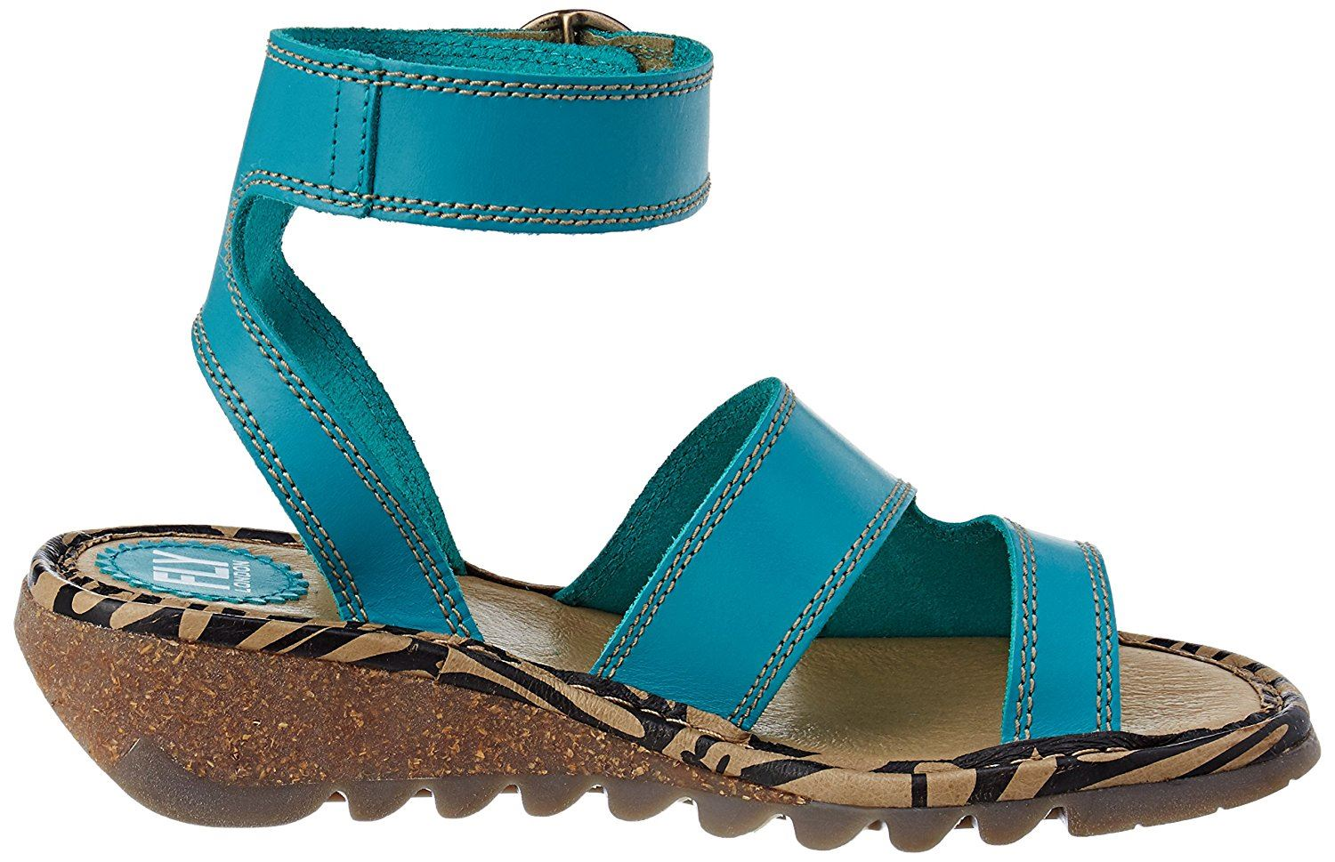 Fly-London-TILY722FLY-Ladies-Strappy-Gladiator-Style-Leather-Wedge-Sandals thumbnail 27