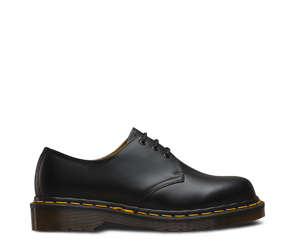 Dr Martens In 1461 Vintage Made In Martens England 3 Eyelet Premium Leather Shoes efc82f