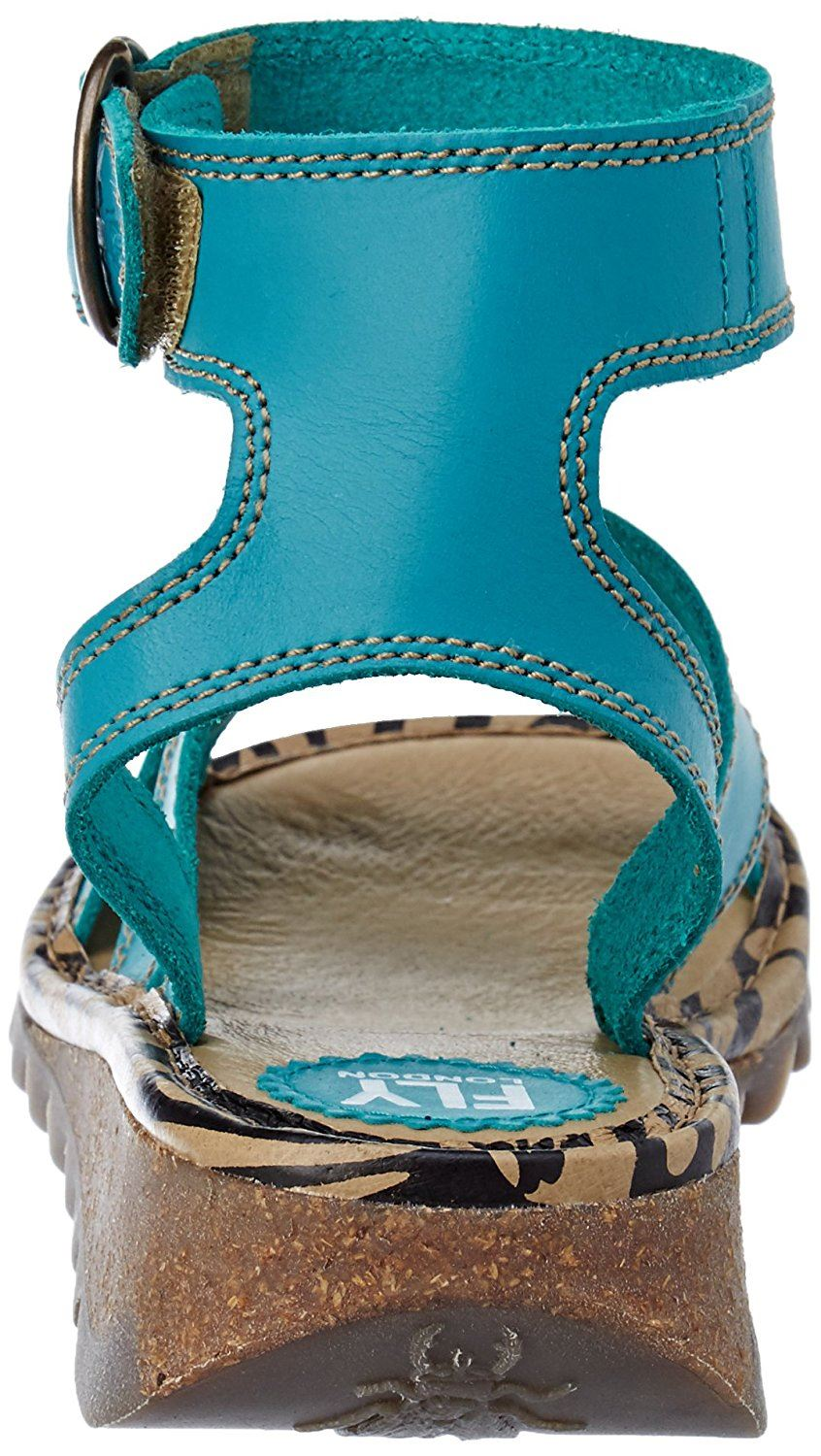 Fly-London-TILY722FLY-Ladies-Strappy-Gladiator-Style-Leather-Wedge-Sandals thumbnail 25