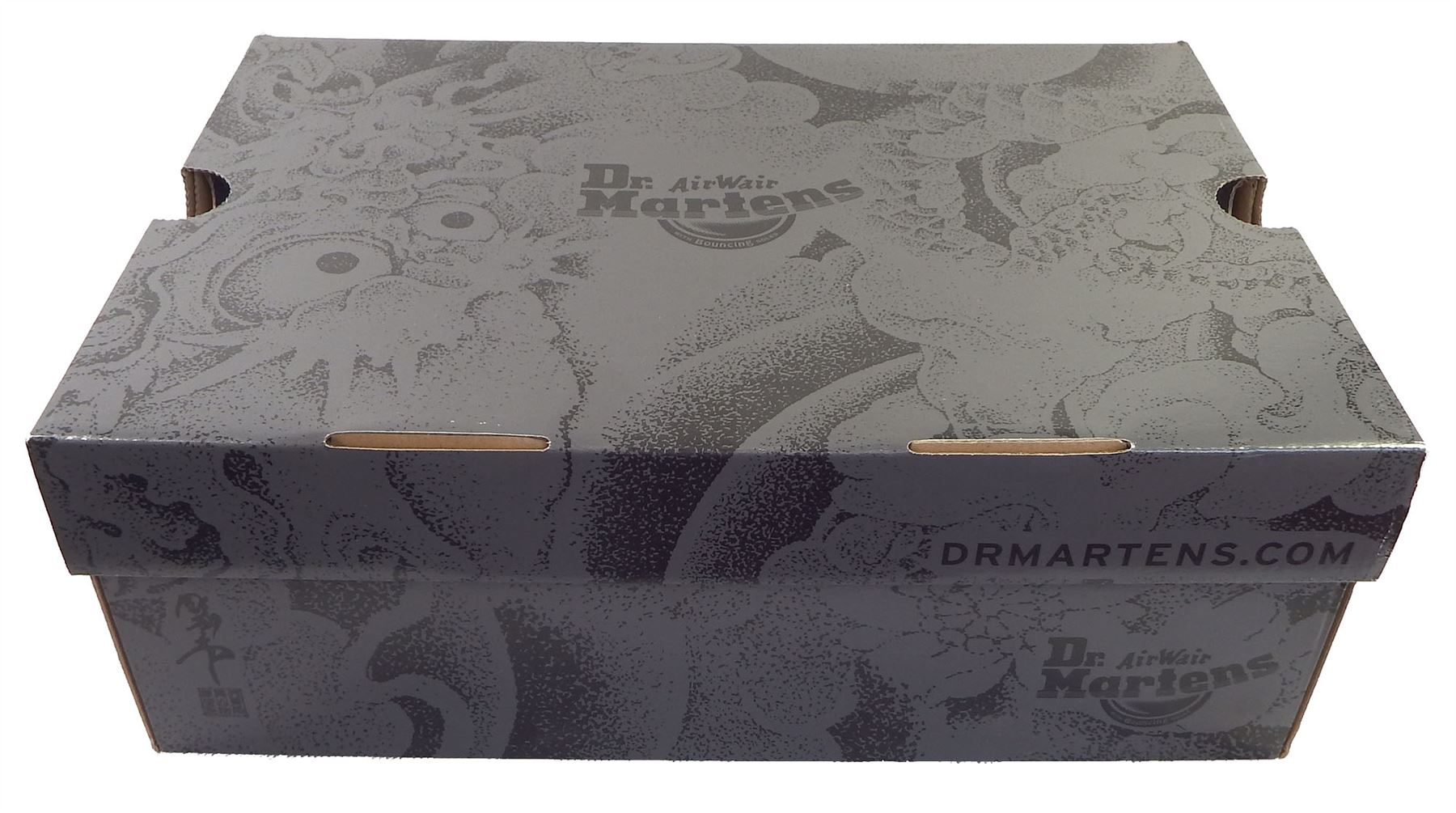 9468fa77e05 Dr Martens 1460 OT Noir + Gunmetal Grey OT Tattoo Backhand Bottes en ...