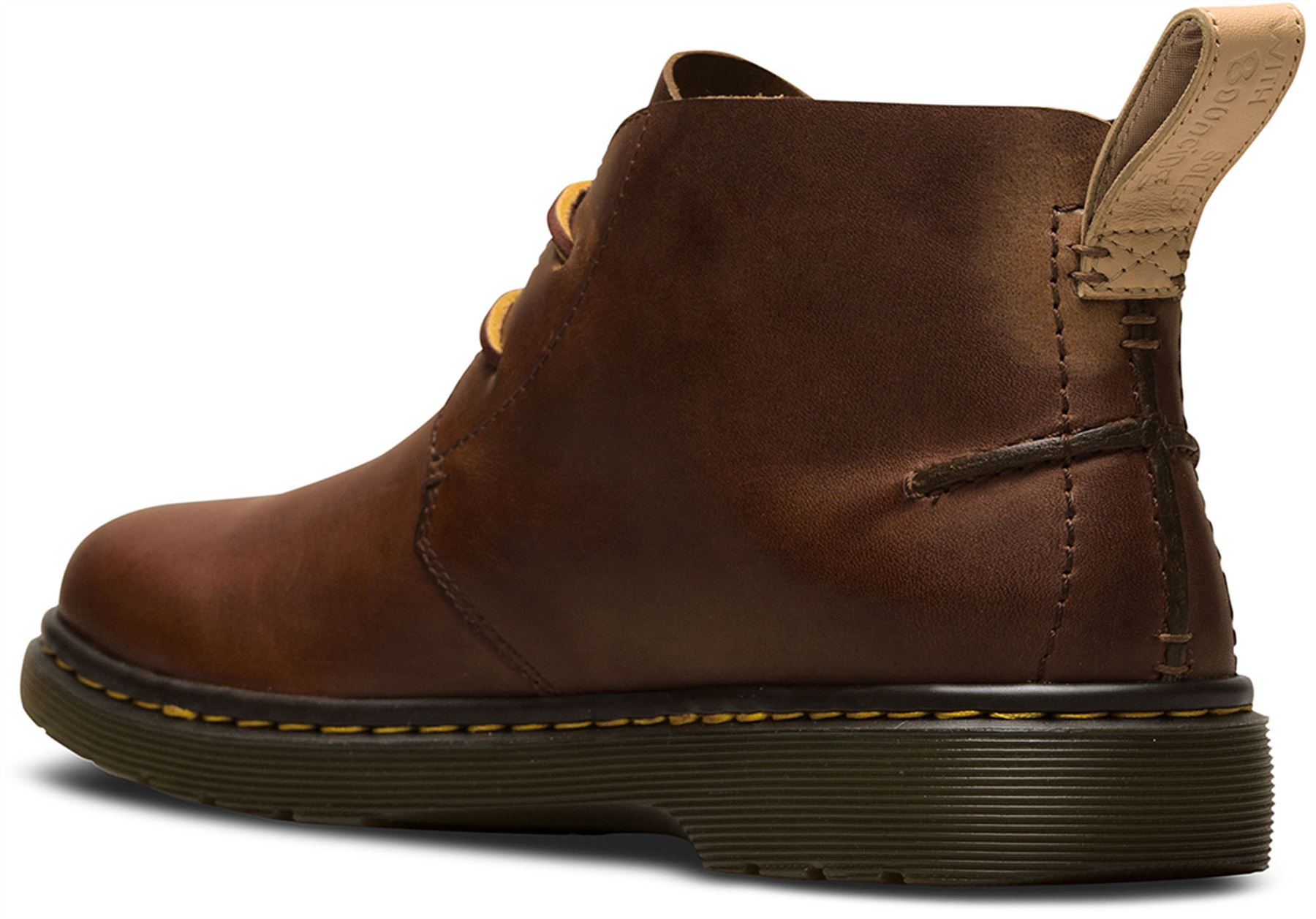 Dr Martens Mens Ember Tan Brown Westfield Premium Leather Desert ... 348896a0bb7a