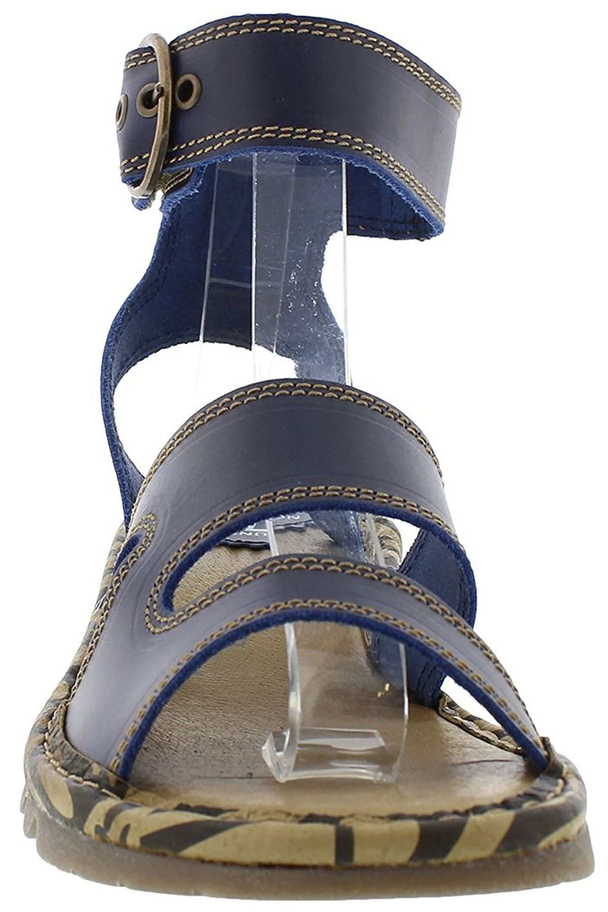 Fly-London-TILY722FLY-Ladies-Strappy-Gladiator-Style-Leather-Wedge-Sandals thumbnail 8