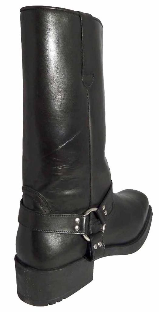 Gringos Mens Mens Mens High Harley Tall Biker Western Harness Leather Stiefel  2368b7