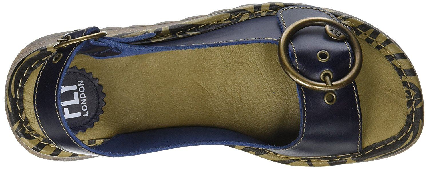 Fly-London-Ladies-TRAM723FLY-Lo-Wedge-Slingback-Summer-Sandals-Leather thumbnail 21