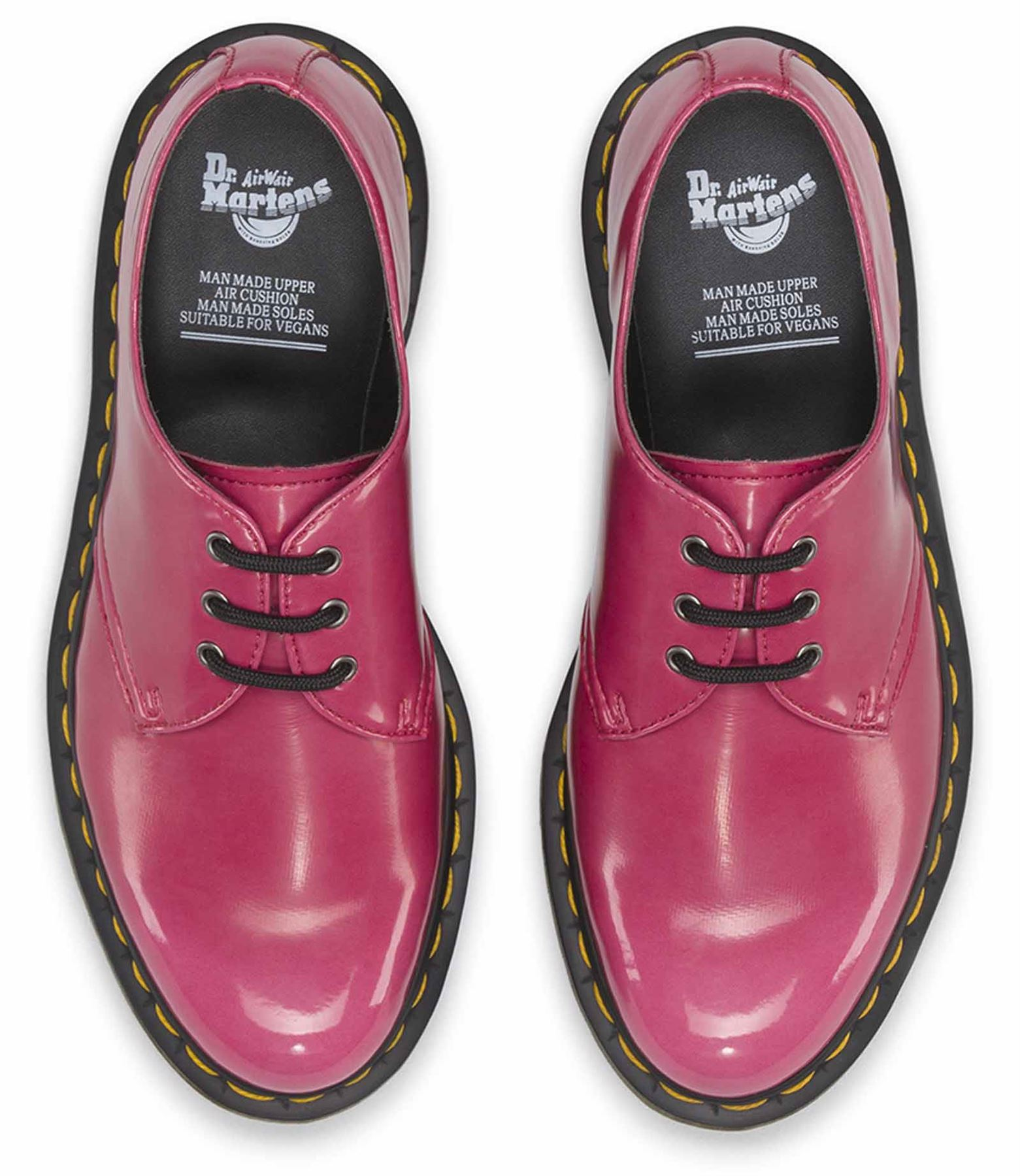 Dr Martens femme 1461 100% Vegan Vegan Vegan Végétarien Cambridge Brosse Chaussures De Loisirs 13e5f1
