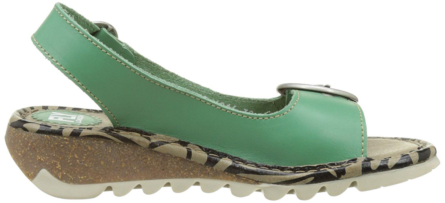Fly-London-Ladies-TRAM723FLY-Lo-Wedge-Slingback-Summer-Sandals-Leather thumbnail 51