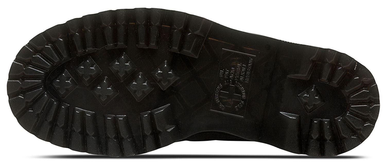 DR Martens Donna Molly 0.3mm Glitter Glitter Glitter QUAD Piattaforma Stivali in pelle PU 68ba6b