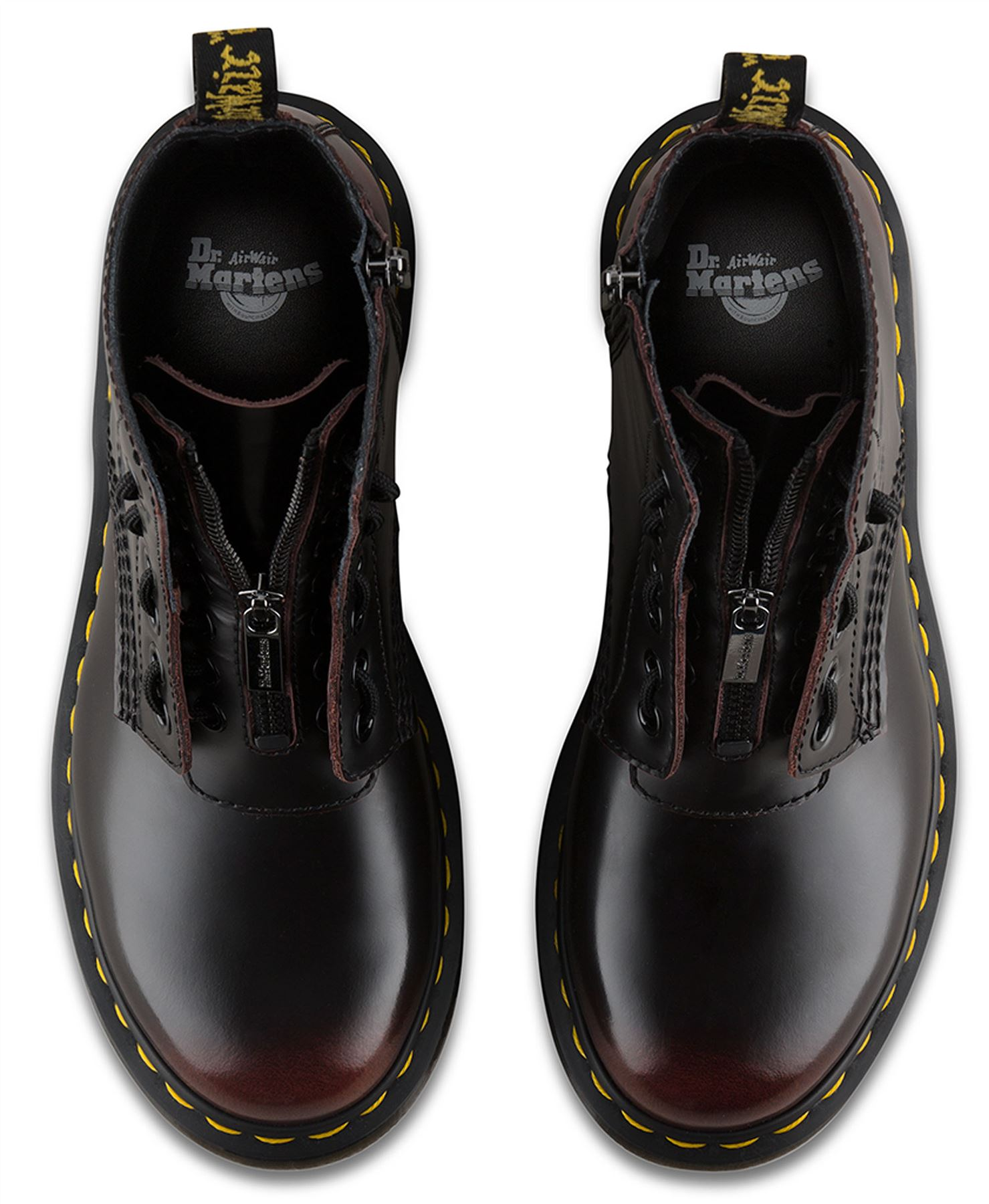 Dr Martens 1460 Pascal Front Zip Cherry Ankle Red Arcadia Premium Leather Ankle Cherry Boots c13fa5