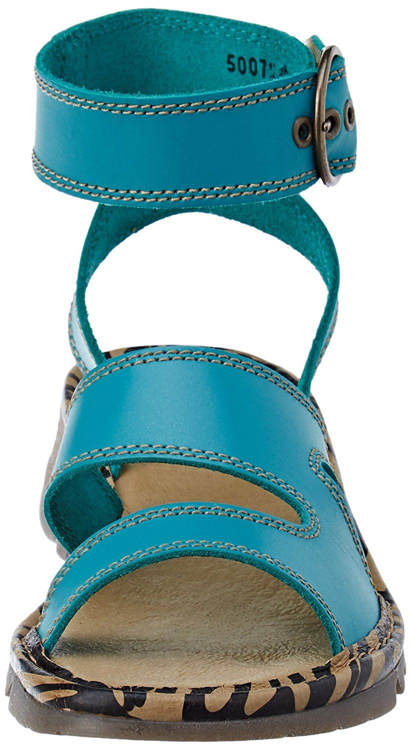 Fly-London-TILY722FLY-Ladies-Strappy-Gladiator-Style-Leather-Wedge-Sandals thumbnail 24