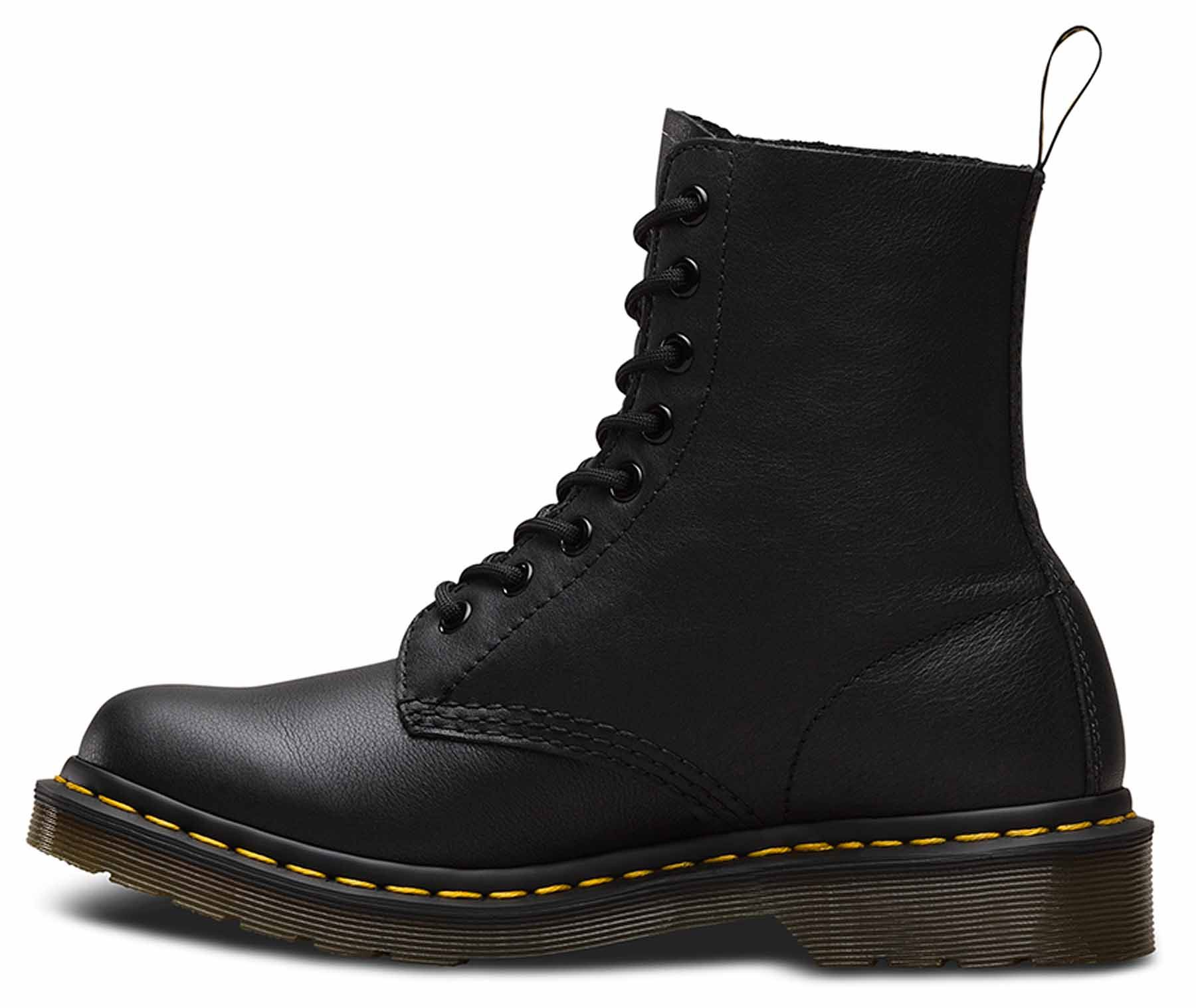 8c0557d32f8 Details about Dr Martens Ladies Pascal Virginia Soft Nappa Leather 8 Eye  1460 Ankle Boots
