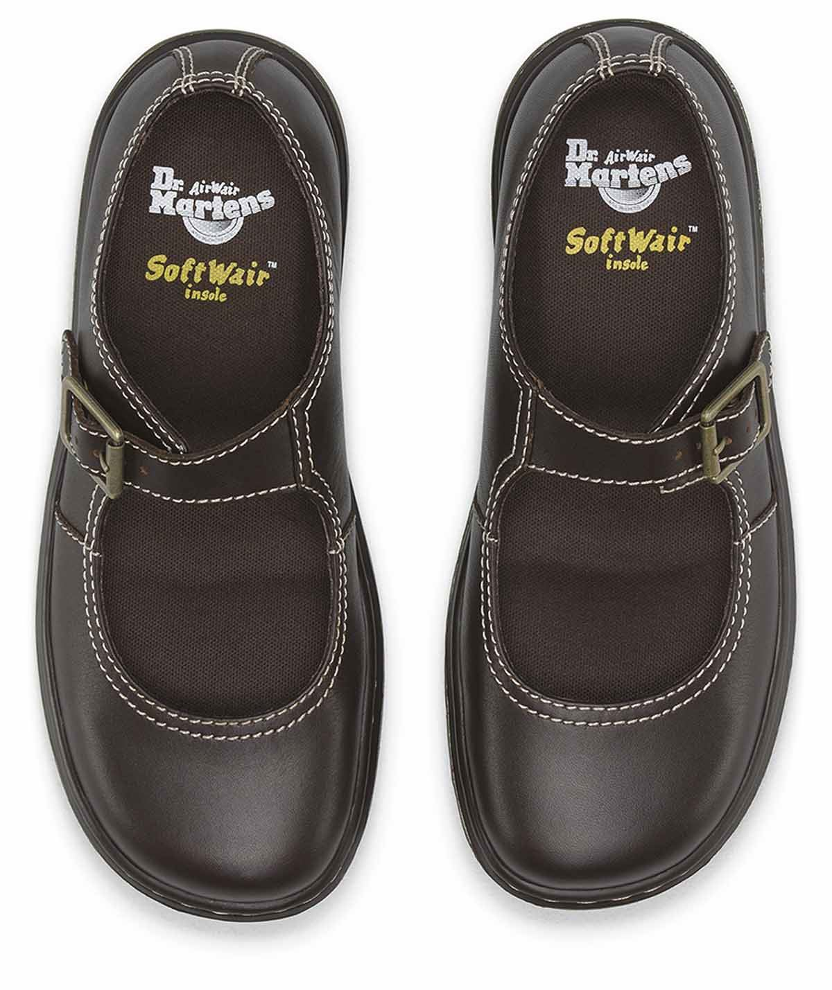 Dr Martens Ladies Kara Mary Jane Danio Super Soft Leather Leather Leather shoes 44deee