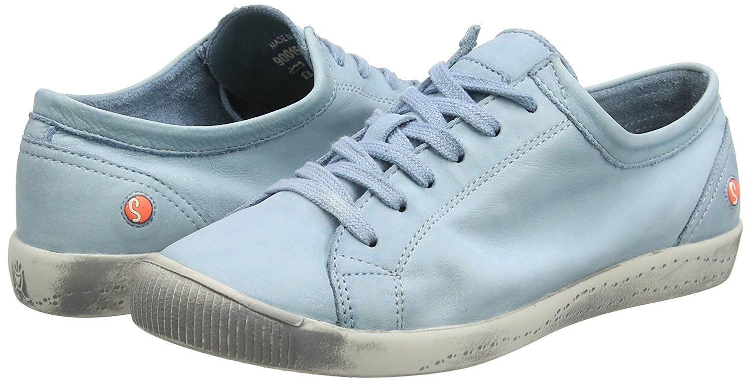 Softinos-Isla-Soft-Washed-Smooth-Leather-Trainers-Pumps-Shoes-made-by-Fly-London thumbnail 22