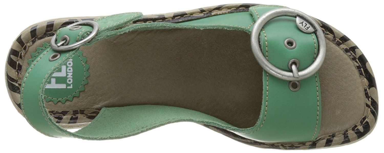 Fly-London-Ladies-TRAM723FLY-Lo-Wedge-Slingback-Summer-Sandals-Leather thumbnail 54