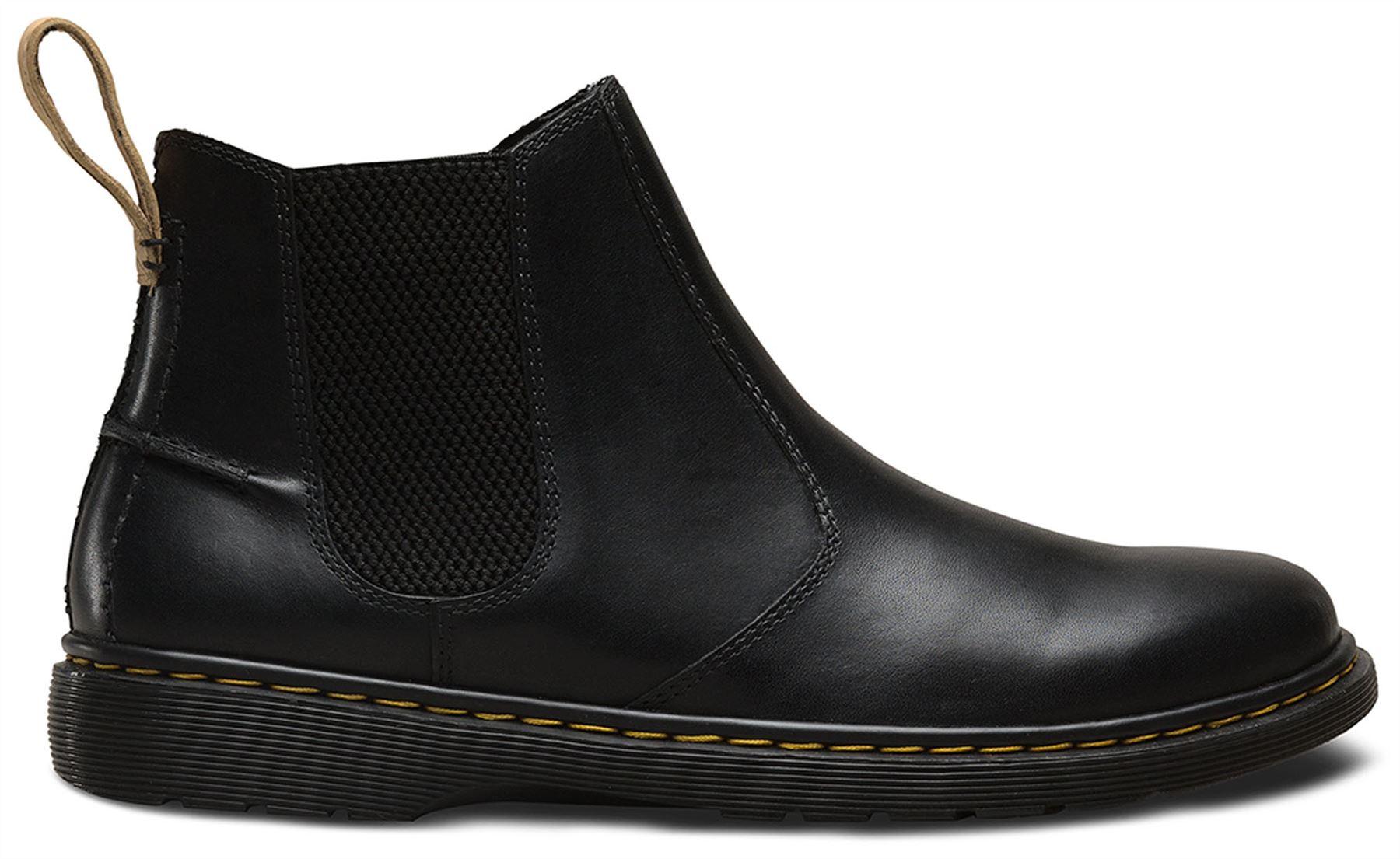 559936347796 Dr Martens Mens Lyme Black Westfield Softwair Leather Chelsea Dealer ...